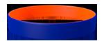 072C/021C <br> Blue/Orange