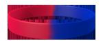 186C/072C <br> Red/Blue