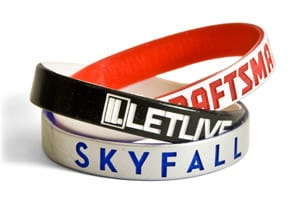 Color Coated Wristbands