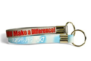 Keychain Wristbands