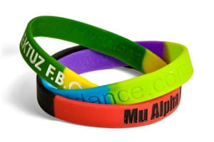 Segmented-Wristbands