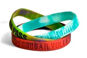 Swirled Wristbands
