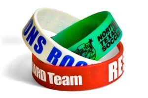 Three Quarter Inch Wristbands